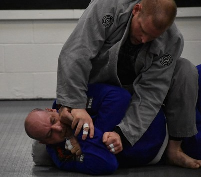Coach Chris Demonstration Brazilian Jiu Jitsu