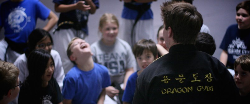 Martial Arts Classes in Exton and Berwyn PA Students Laughing