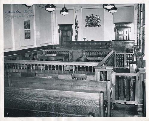 Old courtroom