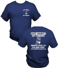 Get FREE T - Shirt from Gibbonslegal