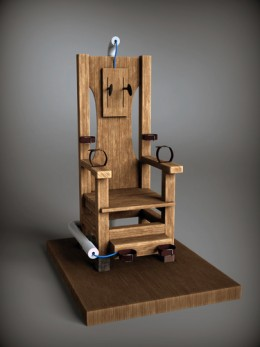 electric chair used for executions