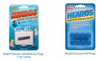 swinmmers ear plugs