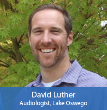 Audiologist David Luther