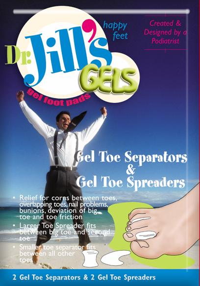 Dr. Jill's Toe Separators