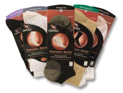 Aetrex Copper Sole Socks