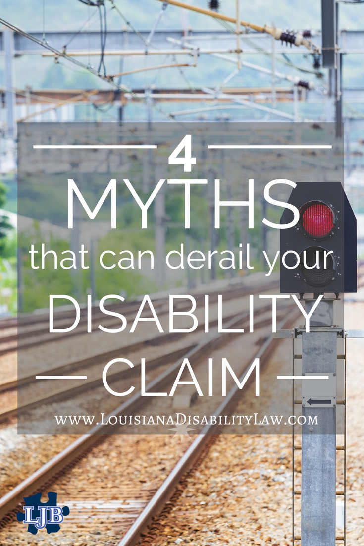 4 myths that can derail your SSDI claim