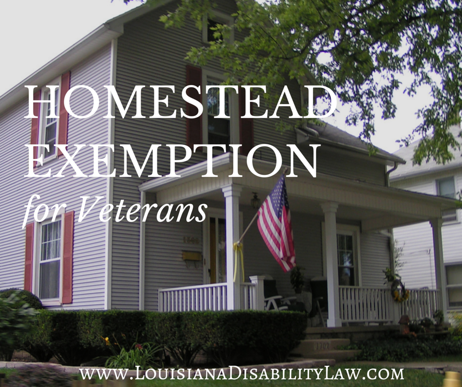 Increased homestead tax exemption for veterans now a law for Is there still a homestead act