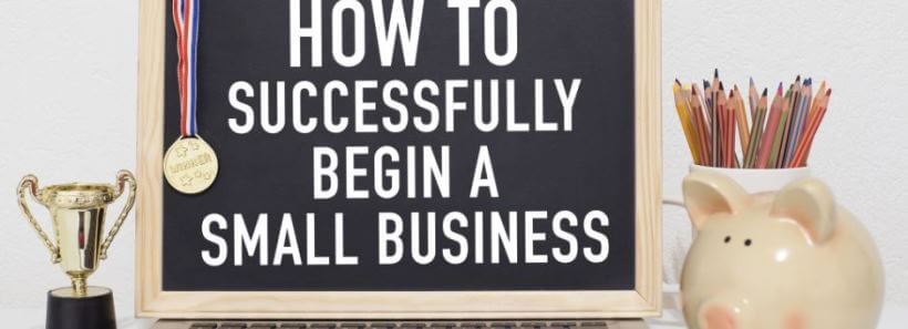 Chalk Board How To Successfully Start A Business Lesson