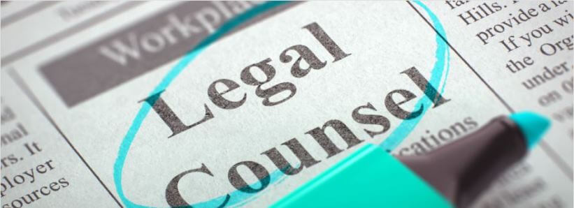 Legal Counsel Classified Ad