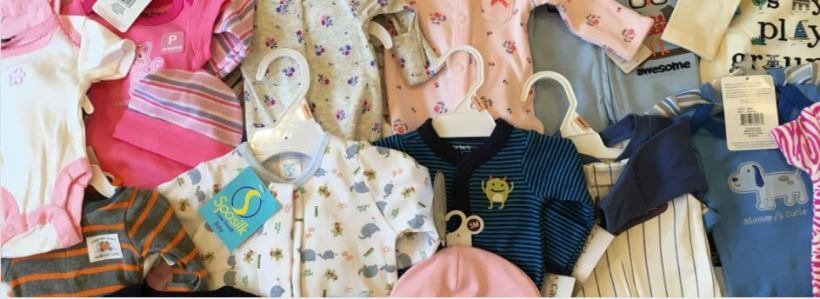 Preemie clothes from clothes drive