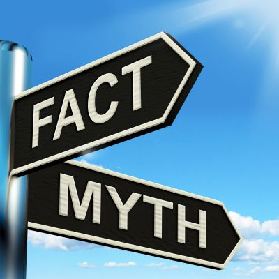Street Sign About Myths