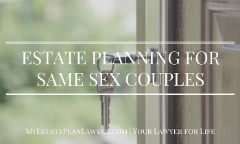 Estate Planning for Same Sex Couples Text
