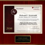 Richard J Arsenault award