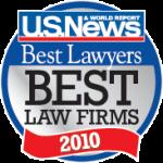2010 Best Law Firm Logo