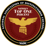 NADC Nation's Top One Percent Badge