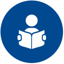 Reading A Book Icon