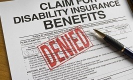 Disability Insurance Benefits Claim Form Denied