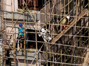 Construction fall injuries
