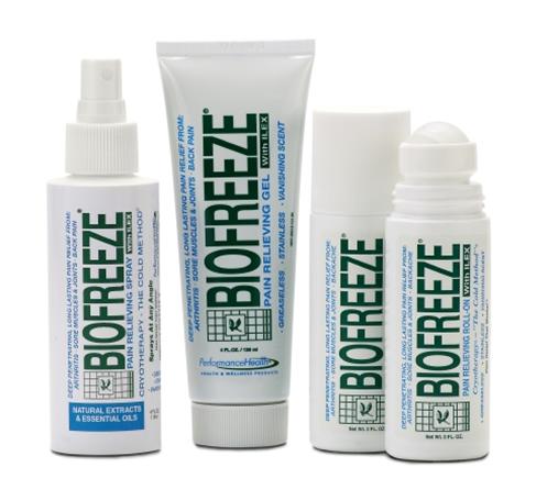 Biofreeze topical gel