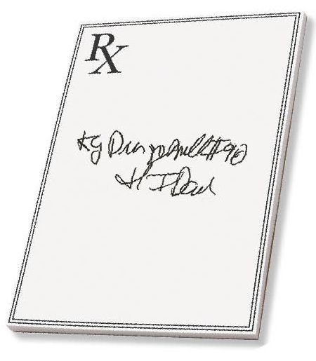 Prescription errors and bad handwriting