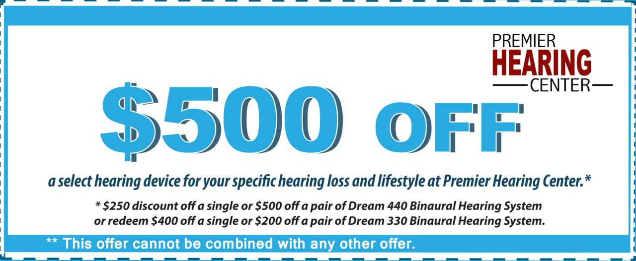 Special offers from Premier Hearing Centers | Premier Hearing Center