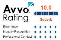 10 Avvo rating