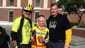 Bicycle accident attorney Randy Sevenish with his wife Regina