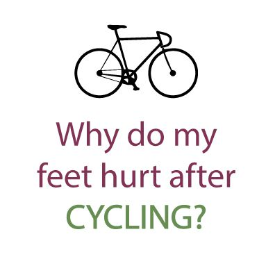 Feet hurt from cycling