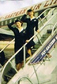 1950 stairs on plane