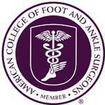 ACFAS member American College of Foot and Ankle Surgeons
