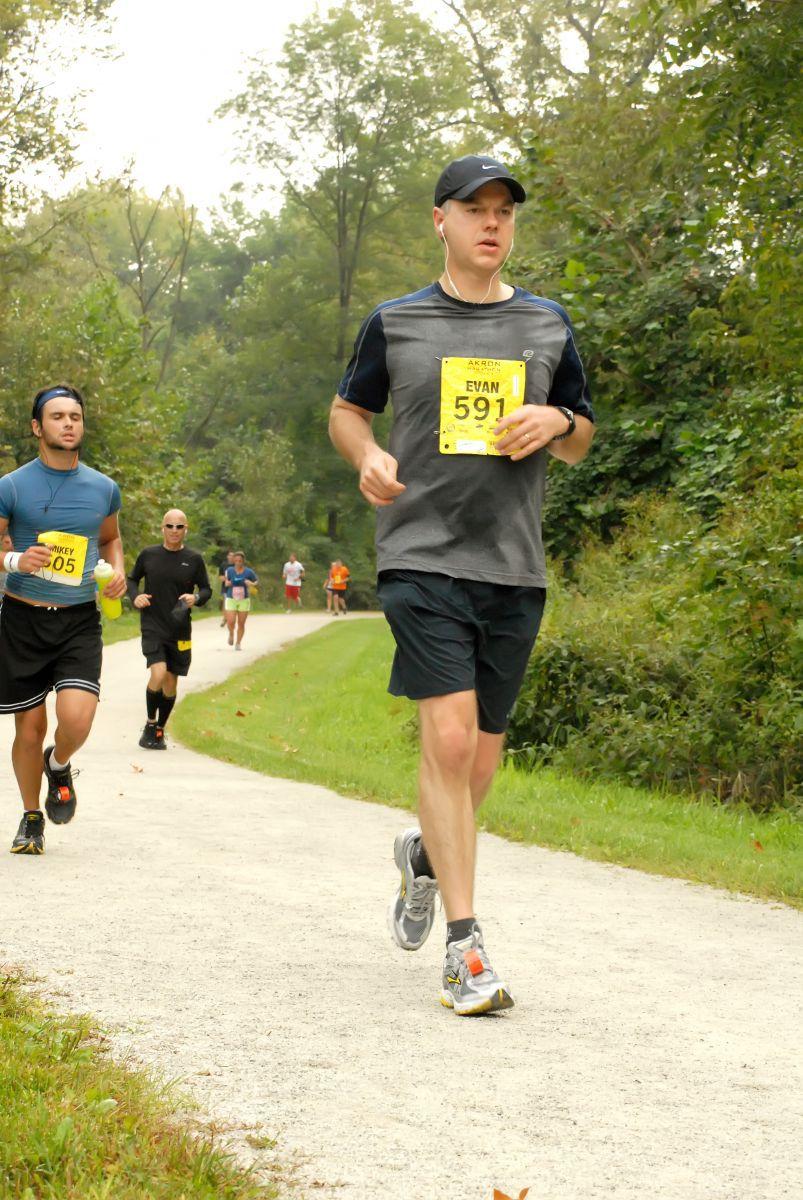 Akron Marathon Sept 2011