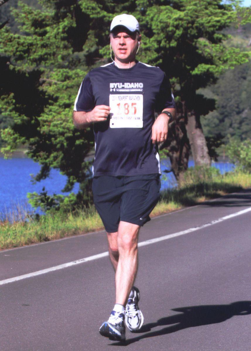 Newport Oregon Marathon 2011
