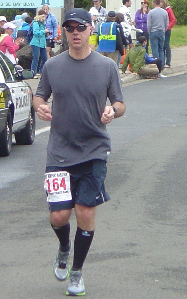Newport Marathon 2012 Evan Merrill