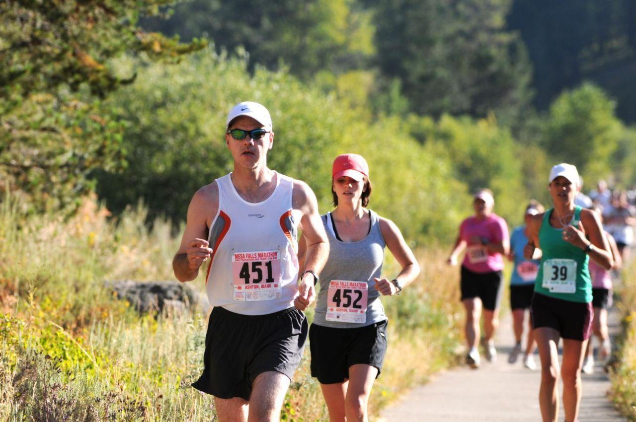 Mesa Falls Idaho Half Marathon
