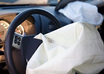 deployed airbag