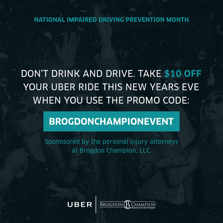 New Year Uber coupon