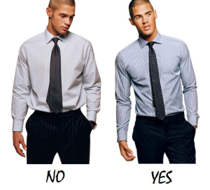 clothing fit correctly