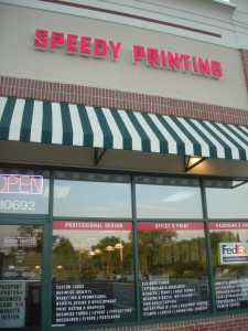 Speedy Printing 2nd location
