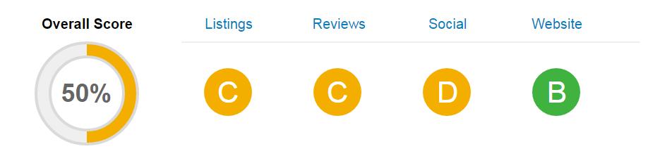Website Analysis Score