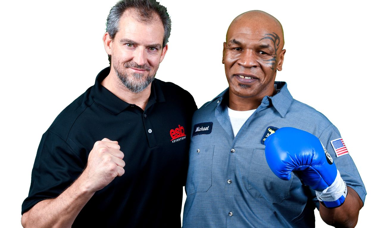 Mike Tyson and Son