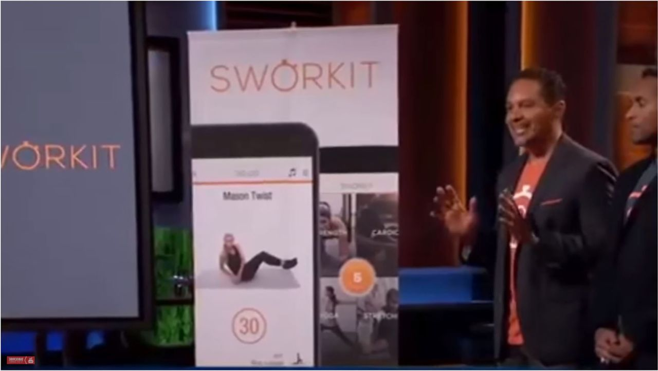 Sworkit Shark Tank