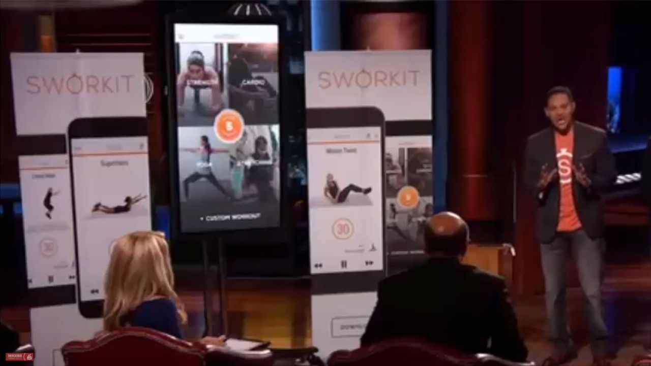 Sworkit Shark Tank 2