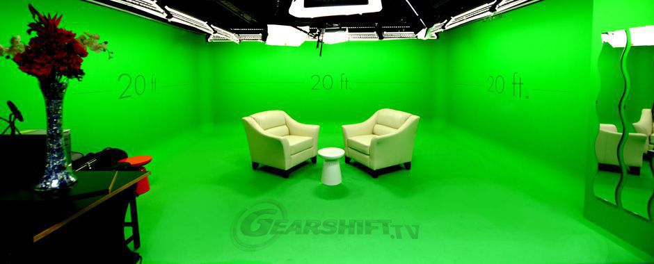Gearshift Green Screen Studio