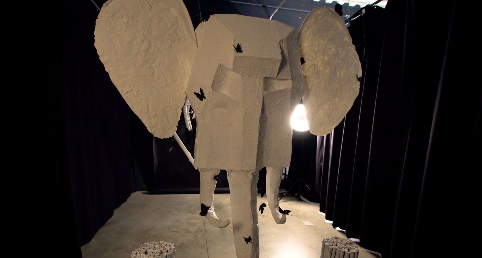 GMU Off the Wall Elephant