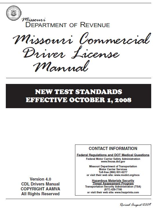 missouri commercial driver license manual the girards law firm rh girardslaw com CDL Classes in Missouri missouri commercial driver license (cdl) manual