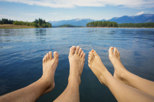 Types of diseases in the feet