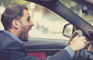 Aggressive driving can endanger everyone using the road