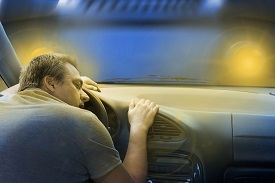 Drowsy drivers are at greater risk of causing serious traffic accidents