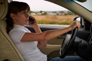 A telephone call is always a significant distraction for a driver