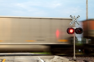 Collisions between trains and motor vehicles can lead to severe injuries